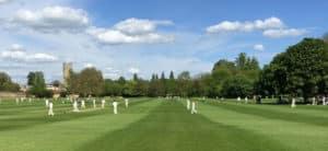 Bonding social capital of an English cricket team